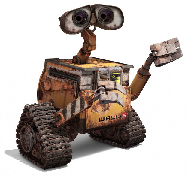 机器人总动员里面的可爱瓦力机器人657228png图片免抠素材 人物素材-第1张