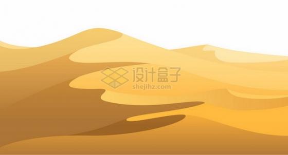 黄沙漫漫的沙漠400587png图片素材