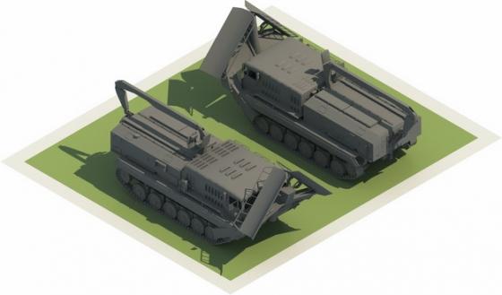 3D立体战场救援车825131png图片素材