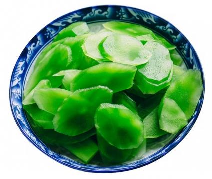 一盘翠绿的莴苣472706png图片素材