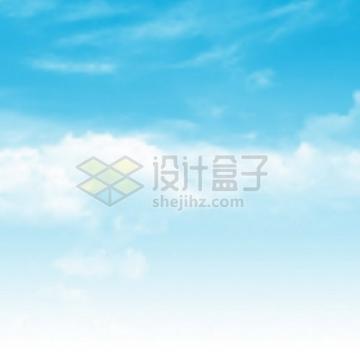 蓝天白云蔚蓝色的天空645169png图片素材