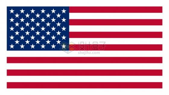标准版美国星条旗国旗图案png图片素材