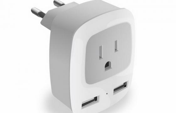 白色插座转换器免抠png图片矢量图素材