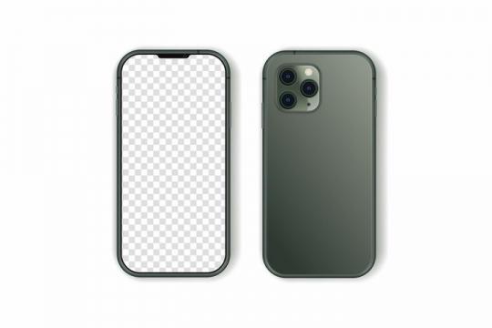 苹果iPhone 11 Pro手机样机免抠png图片矢量图素材