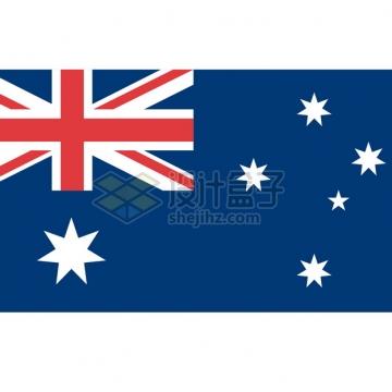标准版澳大利亚国旗图案png图片素材