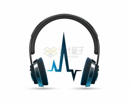 逼真的头戴式耳机310019png图片素材