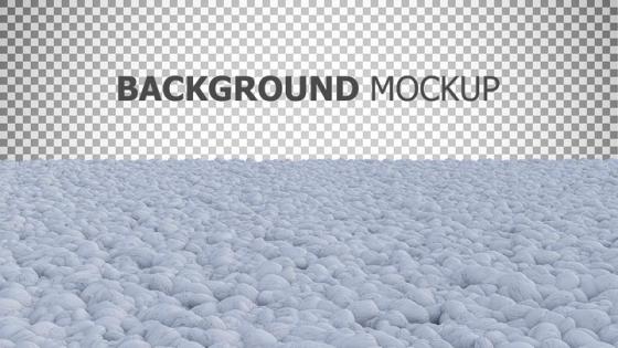 白色石子装饰免抠图片素材
