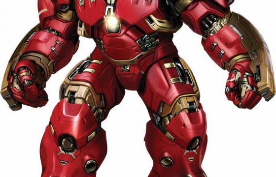 超酷的反浩克装甲钢铁侠漫威电影超级英雄图片免抠素材