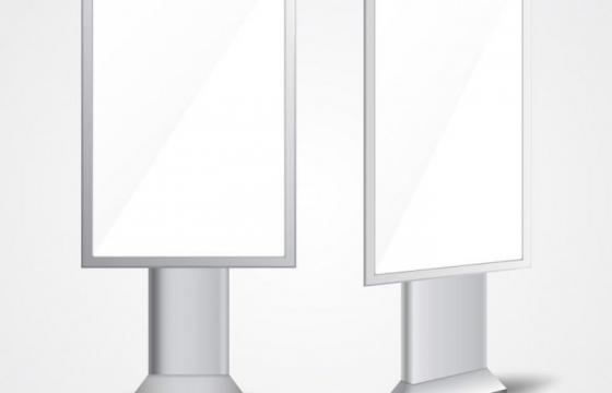 空白灯箱广告牌样机图片免抠素材