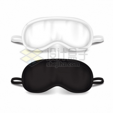 黑色和白色的眼罩598816png矢量图片素材