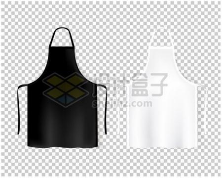 2款挂脖围裙厨房用品722835 png图片素材