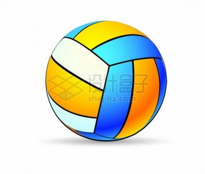 彩色排球868364png图片素材