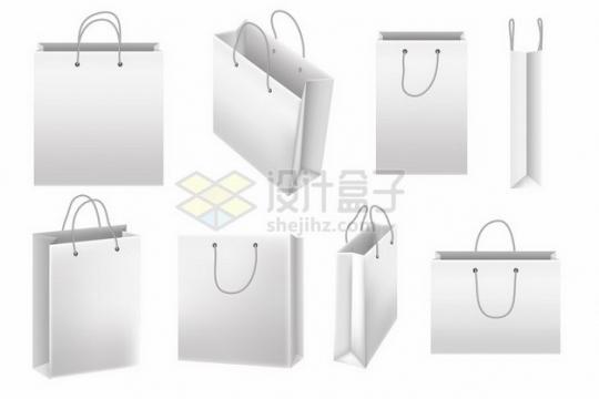 各种空白的购物袋礼品袋纸袋子267839png图片素材