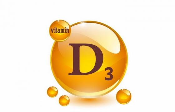 胆钙化醇维生素D3油滴维他命D3软胶囊保健用品营养元素png图片免抠矢量素材