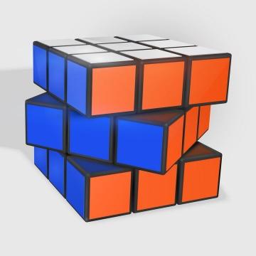 立体风格的魔方益智玩具免抠矢量图片素材