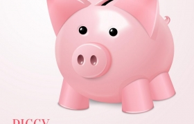 粉色的小猪储钱罐储蓄罐免抠矢量图片素材