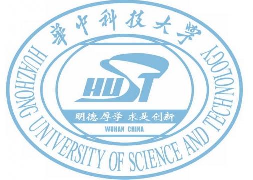 华中科技大学校徽图案带校名LOGO图片素材|png