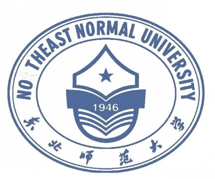 东北师范大学校徽图案图片素材|png