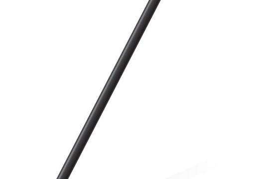 一根黑色的拐杖免抠矢量图片素材