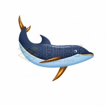 3D风格卡通鲸鱼913330png图片素材