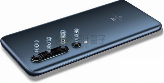 小米10手机后置摄像头镜头结构分解图png图片素材