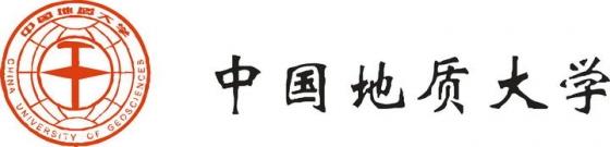 中国地质大学校徽图案带校名LOGO图片素材 png