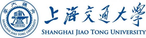 上海交通大学校徽带校名图案图片素材|png