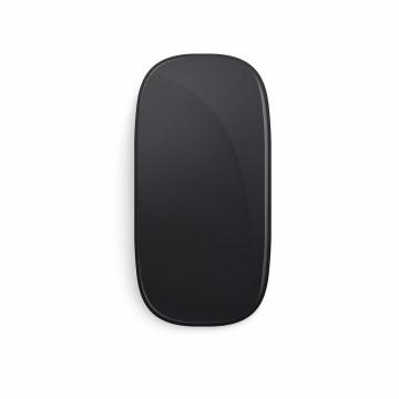 黑色的苹果无线鼠标Magic Mouse png图片免抠矢量素材