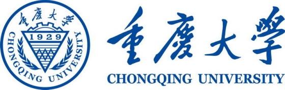 重庆大学校徽图案带校名LOGO图片素材|png