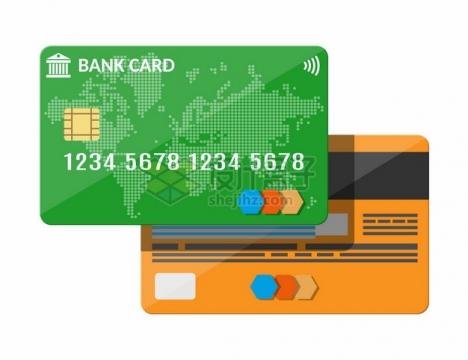 银行卡正反面565360png图片素材