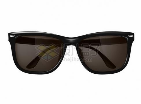 逼真的黑色太阳眼镜309004png图片素材