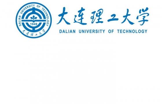 大连理工大学校徽图案带校名LOGO图片素材 png