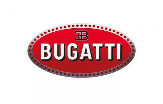 豪华跑车品牌布加迪汽车标志大全及名字图片免抠素材