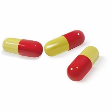 逼真的药丸胶囊药物医疗免抠png图片矢量图素材
