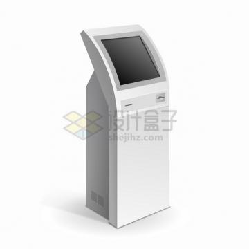自助服务终端机触摸屏一体机自动取票机9782364png图片素材