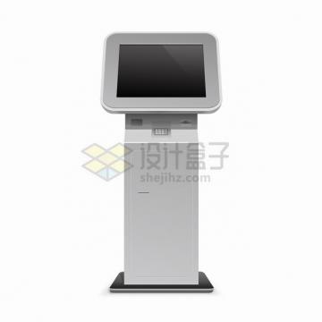自助服务终端机触摸屏一体机自动取票机805623png图片素材