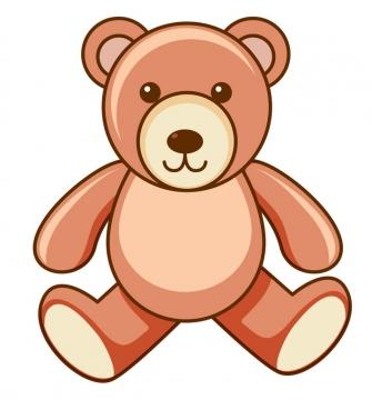 卡通玩具小熊图片免抠矢量图素材