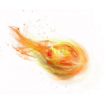 燃烧着火焰的圆球特效果4357894png图片素材