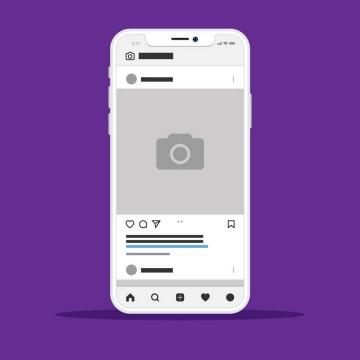 手机APP社交网站UI展示效果图片素材