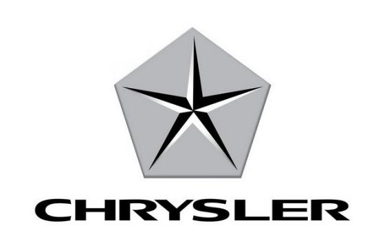 五星克莱斯勒汽车标志大全及名字图片免抠素材