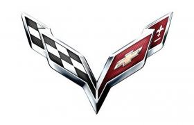 豪华跑车品牌科尔维特汽车标志大全及名字图片免抠素材