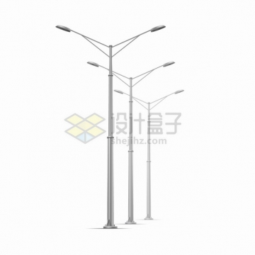 现代化的路灯灯杆347538png图片素材