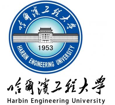 哈尔滨工程大学校徽图案带校名图片素材