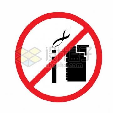 禁止吸烟打火机标志655987png矢量图片素材
