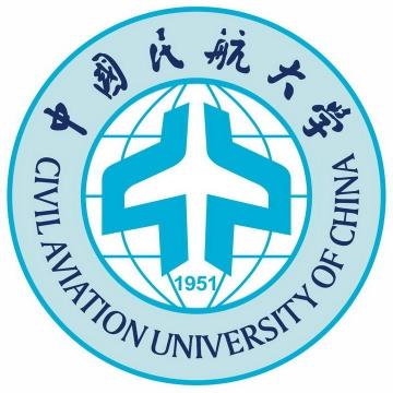 中国民航大学校徽图案图片素材