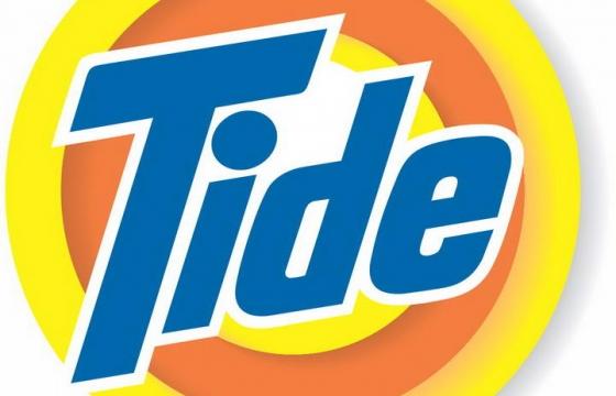洗涤品牌汰渍(Tide)标志图标LOGO透明背景png图片素材