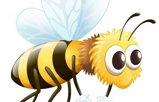 卡通可爱风格小蜜蜂免抠矢量图片素材