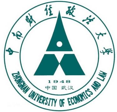 中南财经政法大学校徽图案图片素材