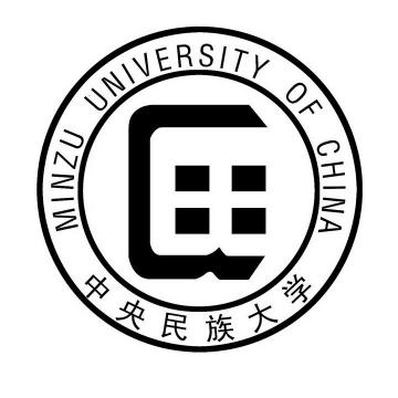 中央民族大学校徽图案图片素材