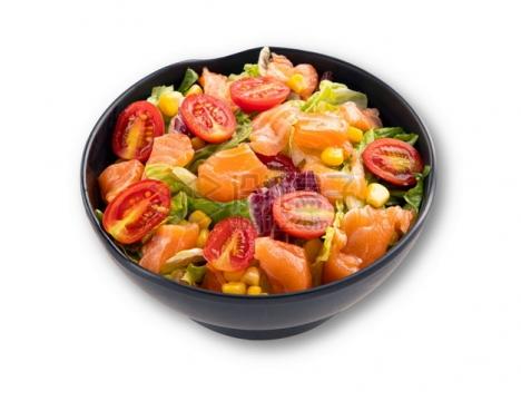 圣女果生菜玉米粒蔬菜沙拉减肥餐png图片素材